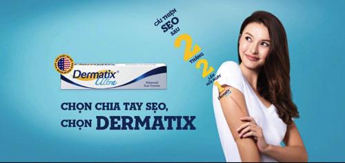 Dermatix® Ultra: giải pháp cải thiện sẹo đến từ nước Mỹ