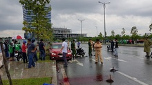Cô gái trẻ bị xe BMW kéo lê 20m, chết tức tưởi