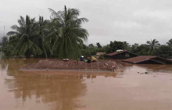 Vỡ đập ở Lào: 19 người chết, hơn 3.000 người chờ cứu
