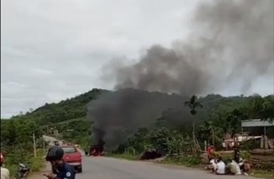 cháy xe,Thanh Hóa,Nghệ An,tai nạn giao thông