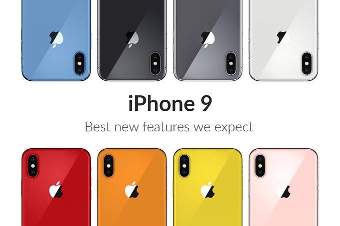 iPhone 2018 vẫn siêu màu mè dù đã bỏ đi màu đỏ