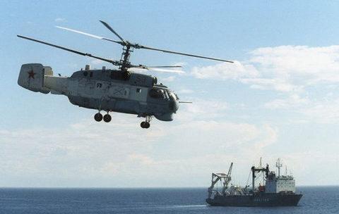 Sức mạnh trực thăng săn ngầm 'ốc sên' Ka-27