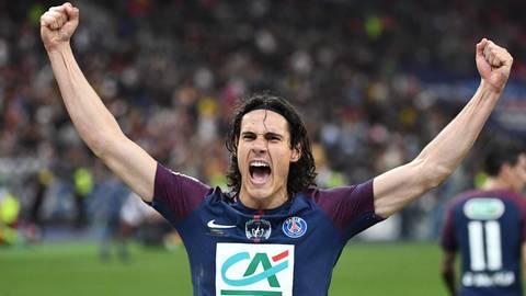 Cavani và Ligue 1 2017-18
