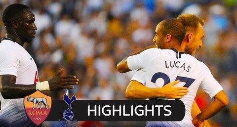 Tottenham 4-1 AS Roma