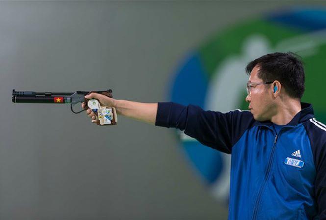 Hoàng Xuân Vinh chính thức dự Olympic 2020