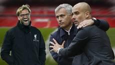 """Liverpool đấu MU và Man City: Pep """"nhường"""" Klopp, Mourinho... ăn vạ"""