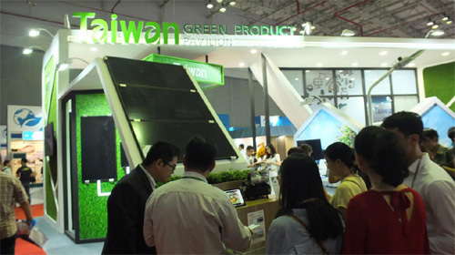 Triển lãm Sản phẩm xanh Đài Loan 2018