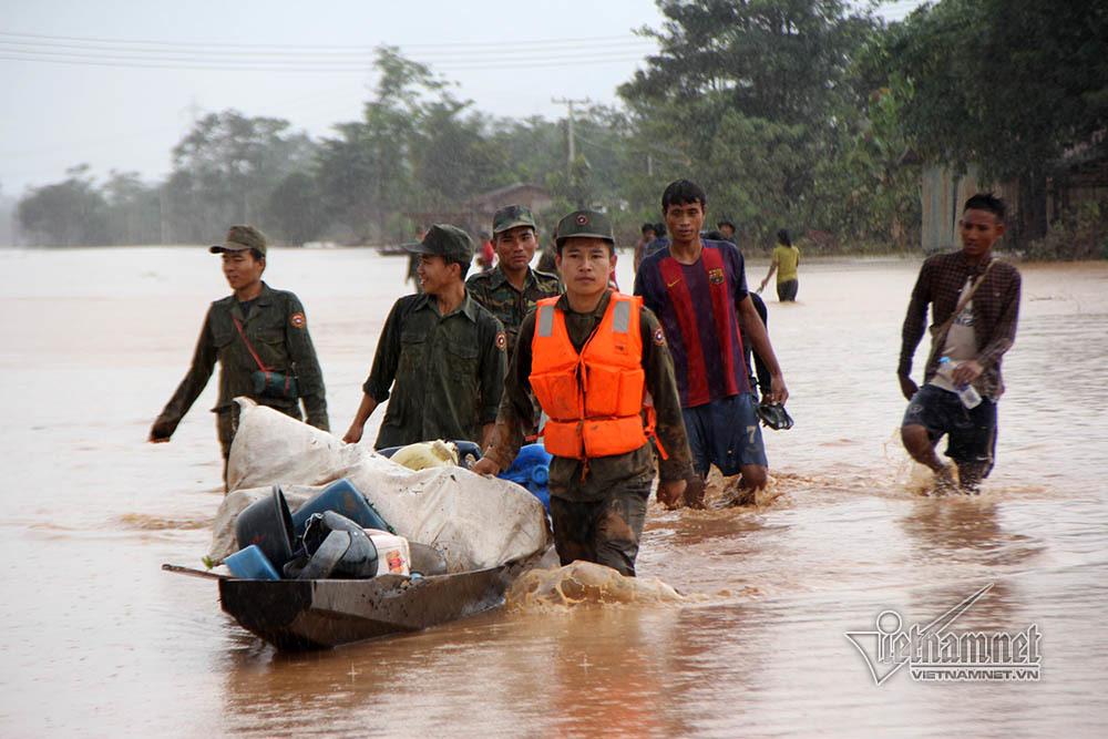 vỡ đập thủy điện,vỡ đập thủy điện ở Lào,thủy điện
