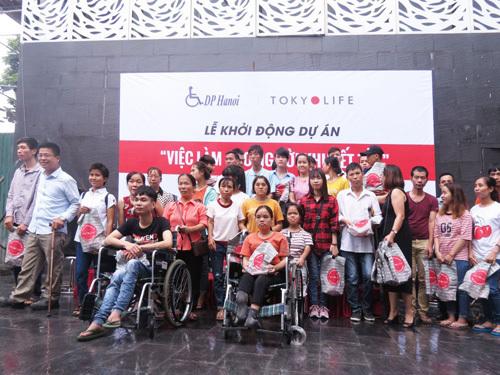 TokyoLife tạo việc làm cho người khuyết tật