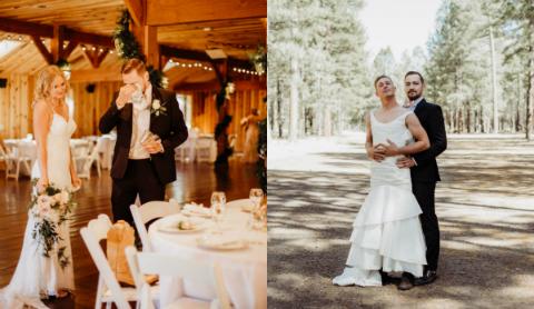 Chú rể bàng hoàng khi cô dâu bị đánh tráo trong lễ cưới