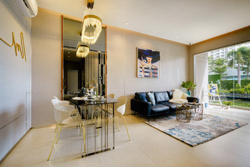 Nội thất, thiết kế căn hộ 'vạn người mê' ở Nam SG