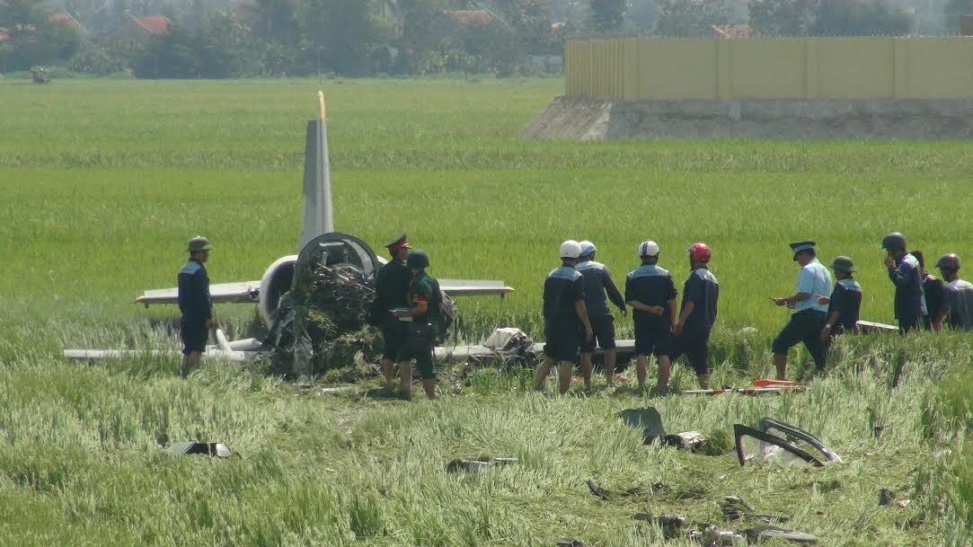 Những vụ rơi máy bay quân sự tại Việt Nam