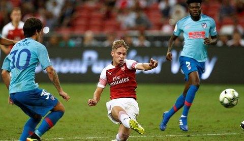 Arsenal 1-1 Atletico pen 1-3