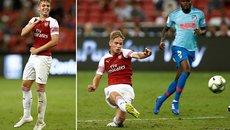 Tài năng 17 tuổi ghi siêu phẩm, Arsenal vẫn thúc thủ Ateltico