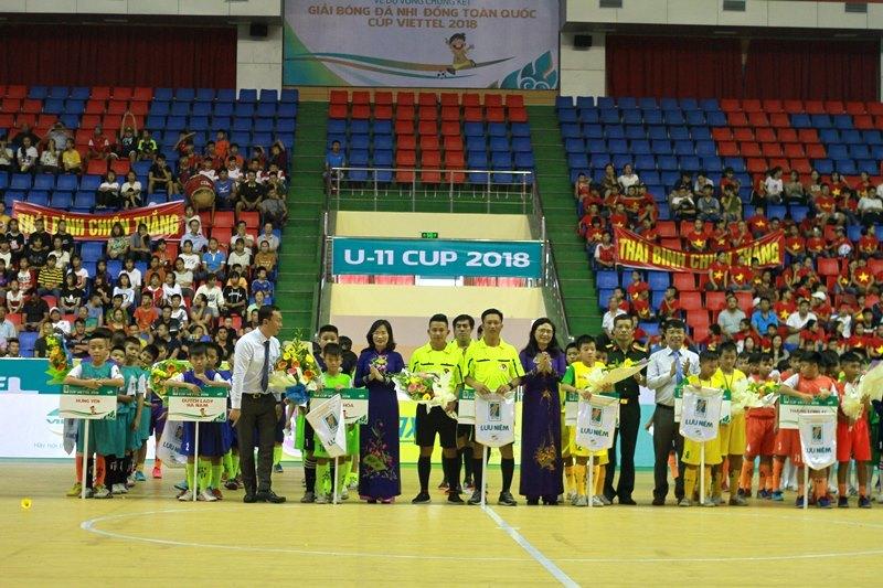 Sôi động VCK Giải bóng đá Nhi đồng toàn quốc 2018