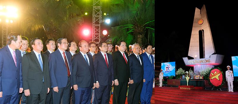 Thủ tướng ấn nút khai trương Cổng TTĐT về liệt sĩ