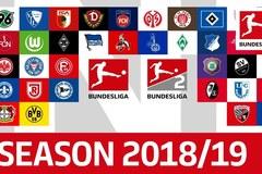 Lịch thi đấu bóng đá Đức Bundesliga 2018-2019