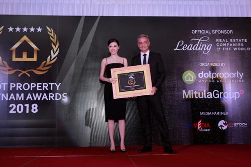 Sunshine Group nhận cú đúp giải thưởng Dot Property Vietnam Awards 2018