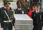 Triều Tiên chính thức trao trả hài cốt lính Mỹ