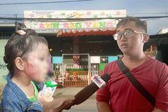 Bé 5 tuổi bị tát tím mặt ở trường: Thông tin từ công an