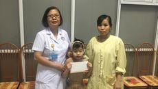 Bé Nguyễn Khánh Linh bị bỏng lửa đã được xuất viện