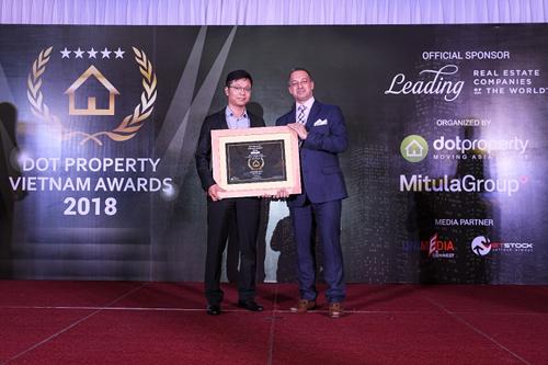Hinode City nhận giải thưởng kép tại Dot Property Award 2018