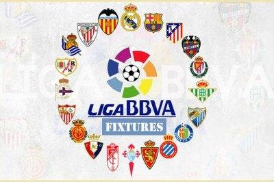 Lịch thi đấu bóng đá La Liga Tây Ban Nha 2019-2020