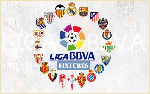 Lịch thi đấu bóng đá La Liga Tây Ban Nha 2018-2019