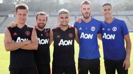 Matic gặp họa, De Gea và Fred hớn hở chào đồng đội MU