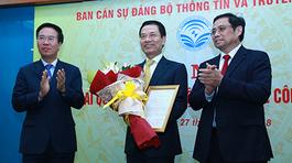Ông Nguyễn Mạnh Hùng giữ chức quyền Bộ trưởng TT&TT, ông Trương Minh Tuấn làm Phó Ban Tuyên giáo TƯ