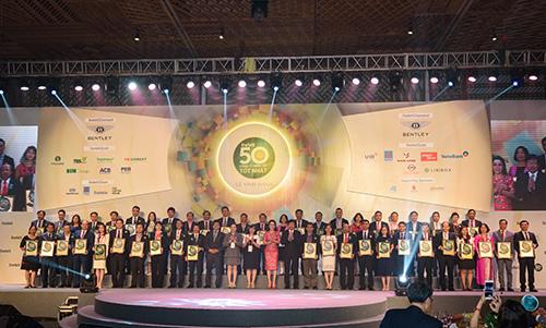 Vietcombank 6 năm vào top công ty niêm yết tốt nhất VN