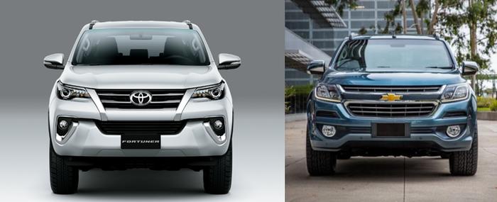 Toyota Fortuner đắt hơn Chevrolet Trailblazer 300 triệu, có nên mua?