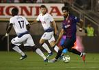"""Vắng Messi, Barca hạ Tottenham ở màn """"đấu súng"""""""