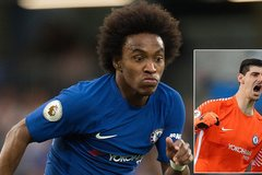 """Real """"cướp"""" sao Chelsea: 100 triệu bảng lấy Willian và Courtois"""