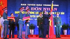 Ban Tuyên huấn Khu ủy Khu 5 nhận danh hiệu Anh hùng