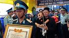 Vụ máy bay rơi: Tiễn đưa liệt sĩ phi công Phạm Giang Nam về với đất mẹ