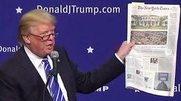 Chủ bút báo lớn Mỹ cảnh cáo ông Trump