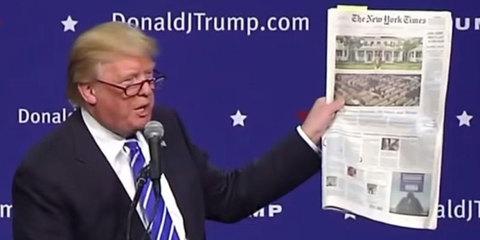 Báo lớn Mỹ cảnh cáo ông Trump