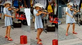 Bé gái kéo violin bản Despacito tuyệt hay được hàng triệu người chia sẻ