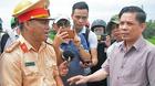 Bộ trưởng Nguyễn Văn Thể tới hiện trường vụ tai nạn ở Quảng Nam
