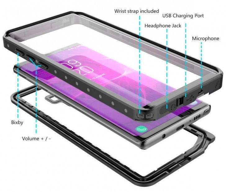 Thiết kế Galaxy Note 9 lộ hoàn toàn nhờ lớp vỏ bảo vệ