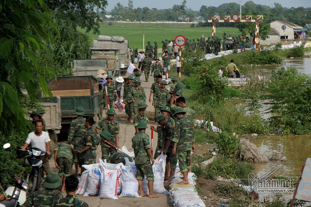 đê Chương Mỹ,ngập lụt,Hà Nội,mưa lũ ở Hà Nội