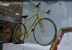 Mục sở thị siêu xe đạp làm từ vàng nguyên chất, giá 8,4 tỷ đồng