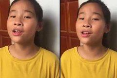 Cô bé hát bằng 7 thứ tiếng gây sốt mạng xã hội