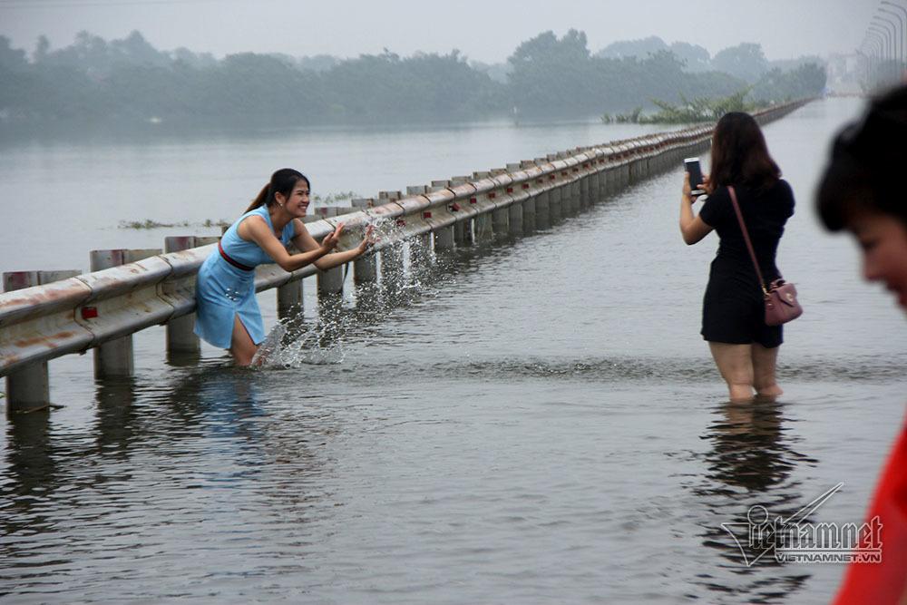 Ngập lụt ở Chương Mỹ,Ngập lụt ở Hà Nội,Chương Mỹ,Hà Nội,ngập lụt ở Quốc Oai