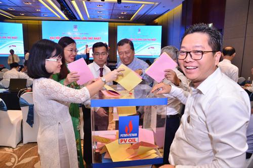 PVOIL tổ chức Đại hội đồng cổ đông lần thứ nhất