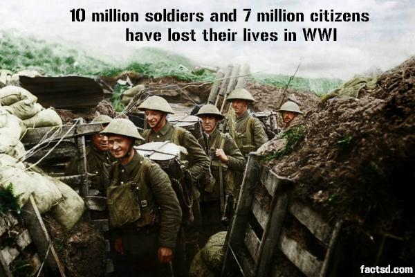 Ngày này năm xưa: Bùng nổ Đại chiến cướp mạng sống 20 triệu người