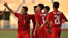 U16 Việt Nam dễ dàng đè bẹp U16 Timor Leste