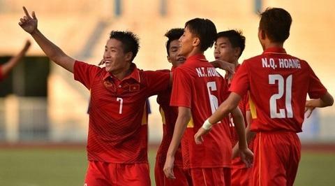 U16 Việt Nam 4-0 U16 Đông Timor
