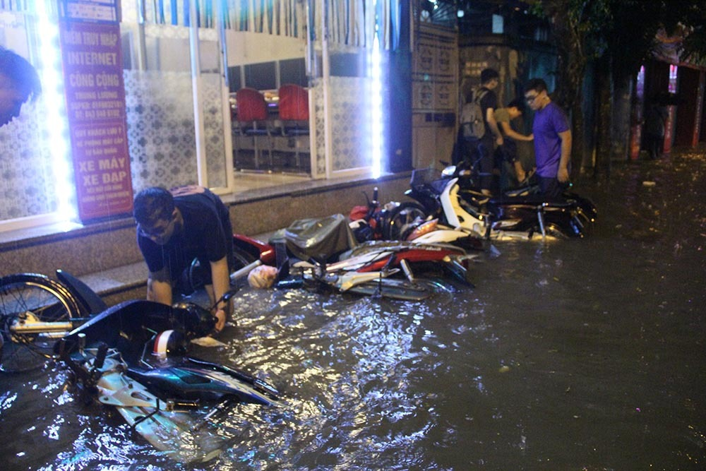 ngập lụt,ngập úng,Hà Nội